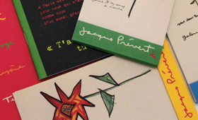 Jacques Prevert Stationery